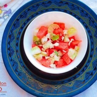 watermelon salad, watermelon and feta salad, recipe, watermelon cucumber feta salad recipe, cold salad, summer salad, foodporn, food food, healthy eating, clean eating, healthy recipe
