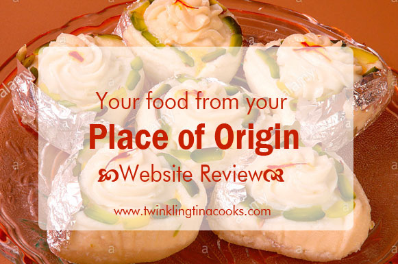 #NoRecipePost - Your food from your Place of Origin