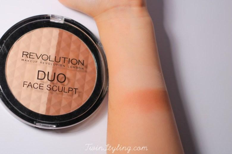 duo face sculpt make-up revolution