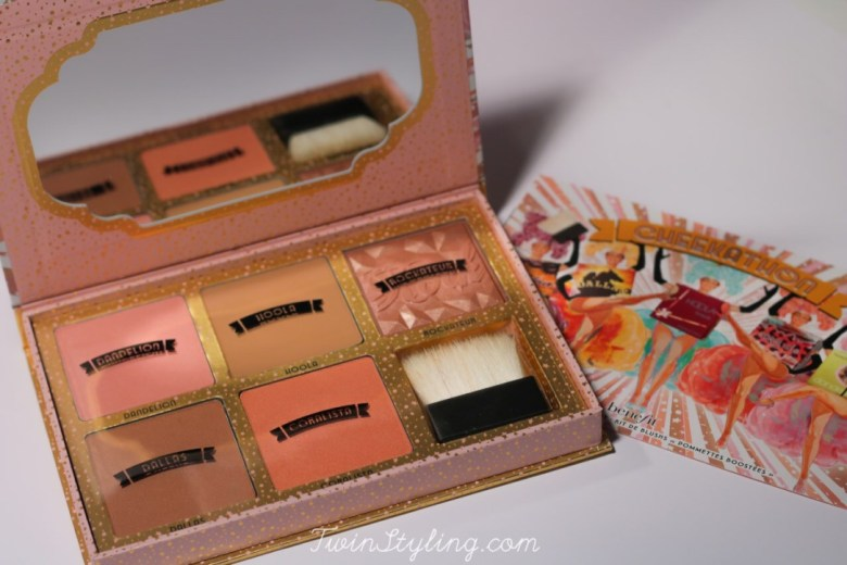 cheekathon palette blush benefit