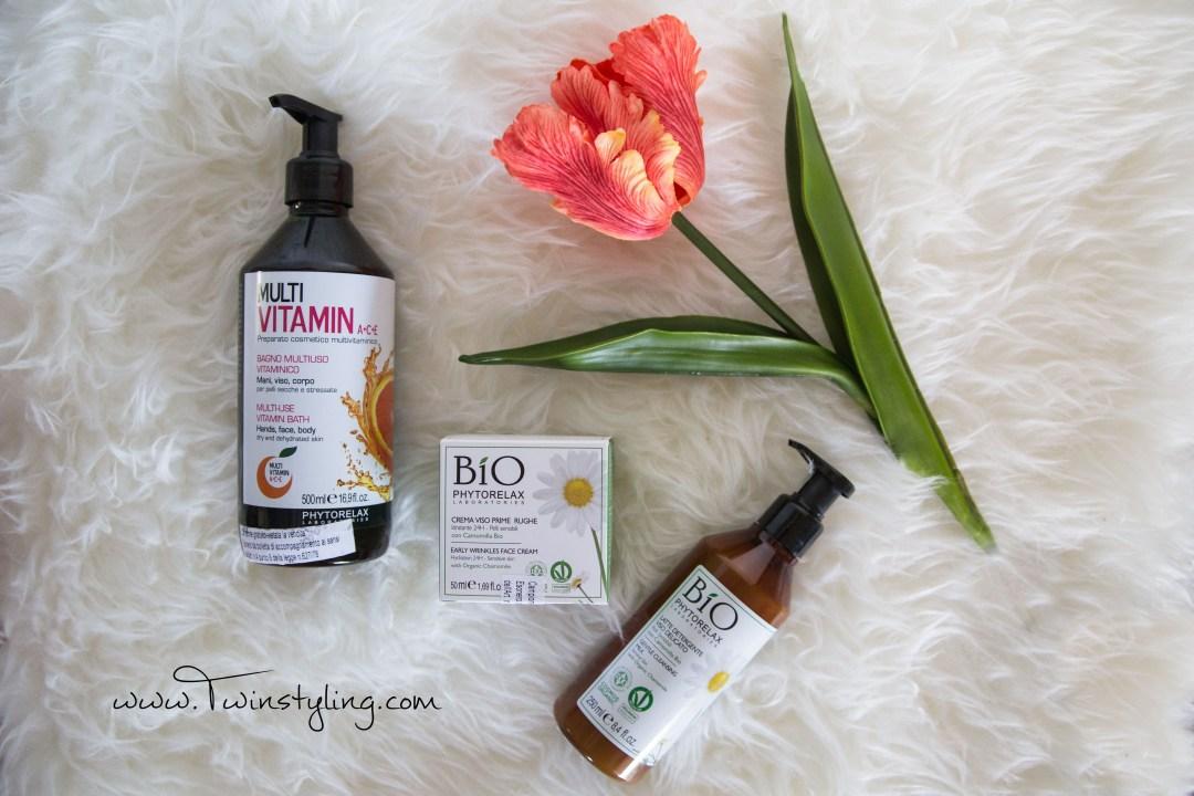 prodotti phytorelax crema viso bagno multiuso vitaminico e latte detergente  viso