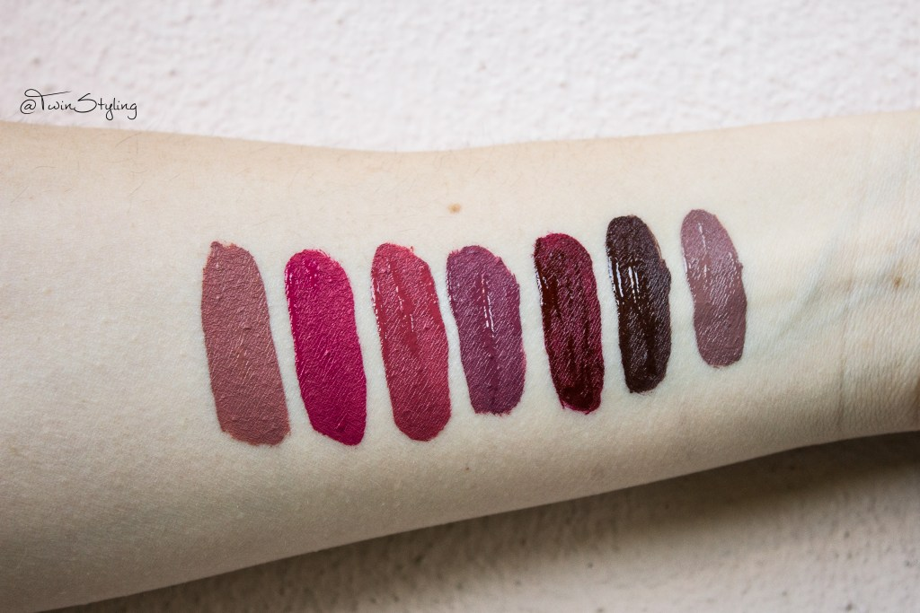 sweet gravity, five o clock, grande amore, kernel, unspoken, coco, stronger dreamy matte liquid lipsticks nabla cosmetics