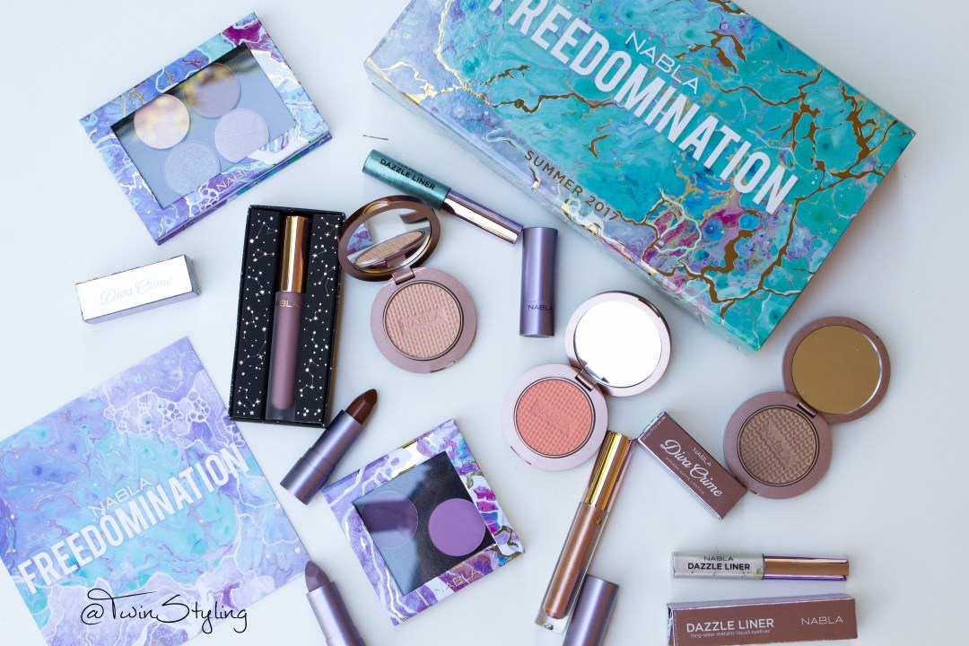 collezione estiva 2017 - Freedomination - Nabla Cosmetics.