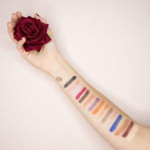 Poison Garden Eyeshadows palette - Nabla