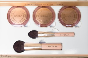 CollabHaul: Close-up collection volume II - Nabla Cosmetics.  Ciprie più pennelli