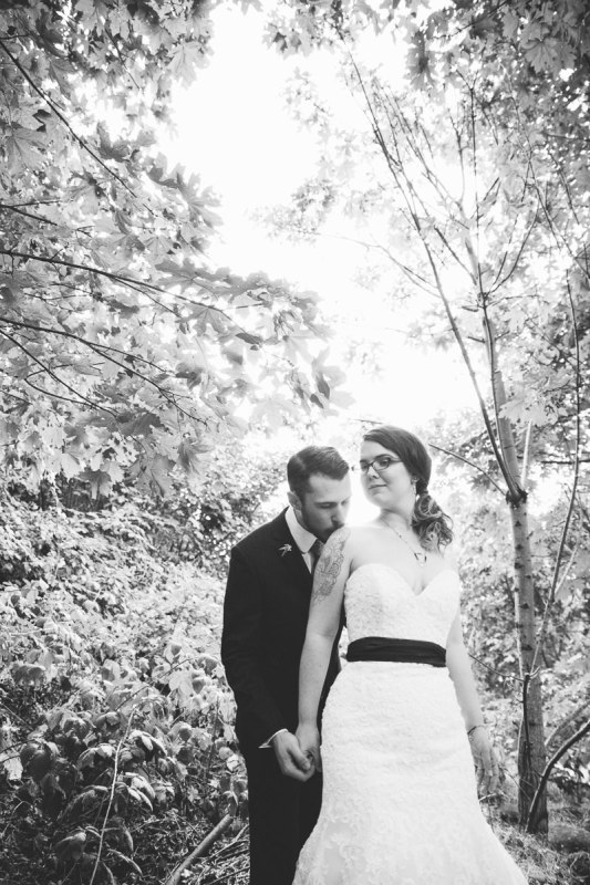Caitlin + David | Springhouse Cellar Winery DIY Wedding
