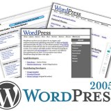 WordPress 2005