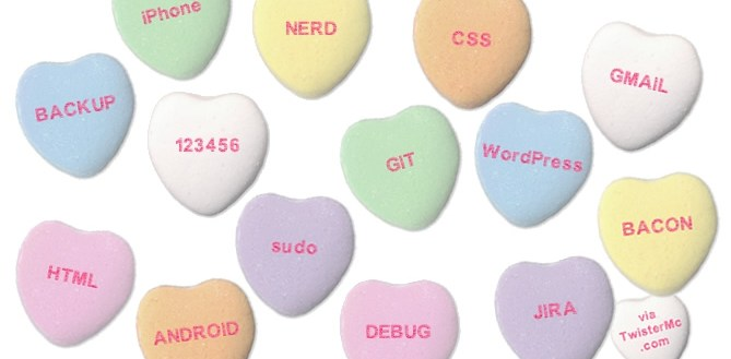 Nerd Candy Hearts