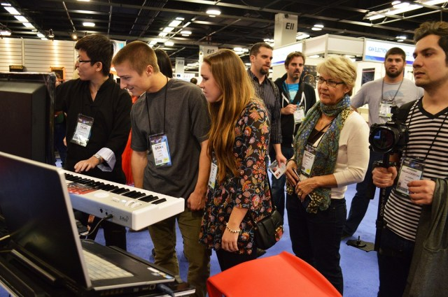Yichi's on NAMM Show in the States