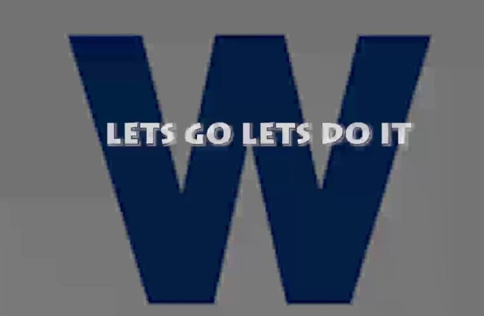 LETS GO LETS DO IT – New Cubs Hype Video Song 2016 By Cubs Fans