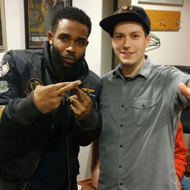 Pharoahe Monch and son of andy