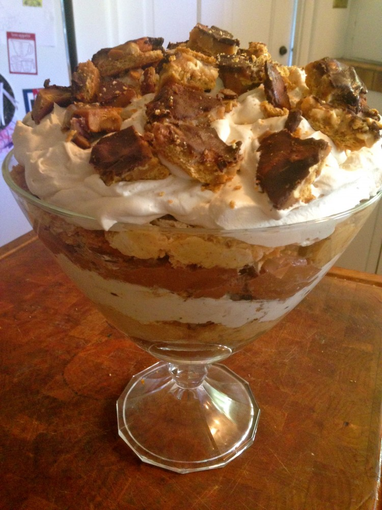 Chocolate Peanut Butter Trifle