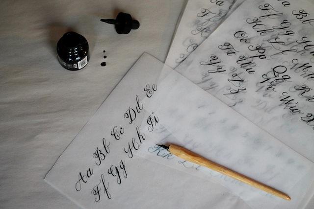 Calligraphy practice 1