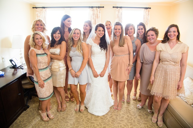 Ginny wedding bridesmaids | Two Delighted