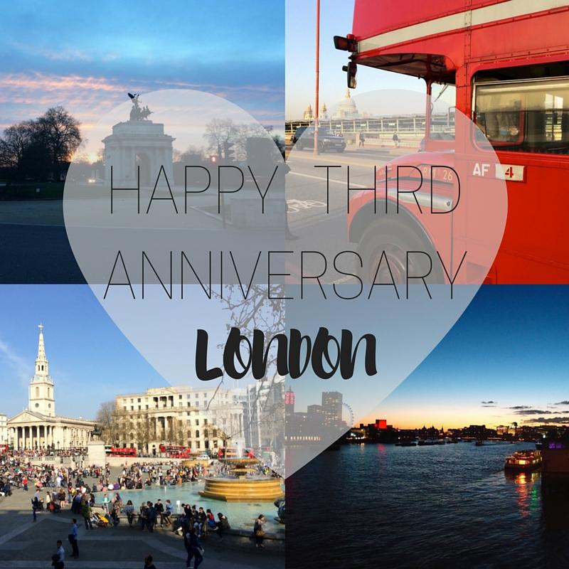 Happy Third Anniversary London