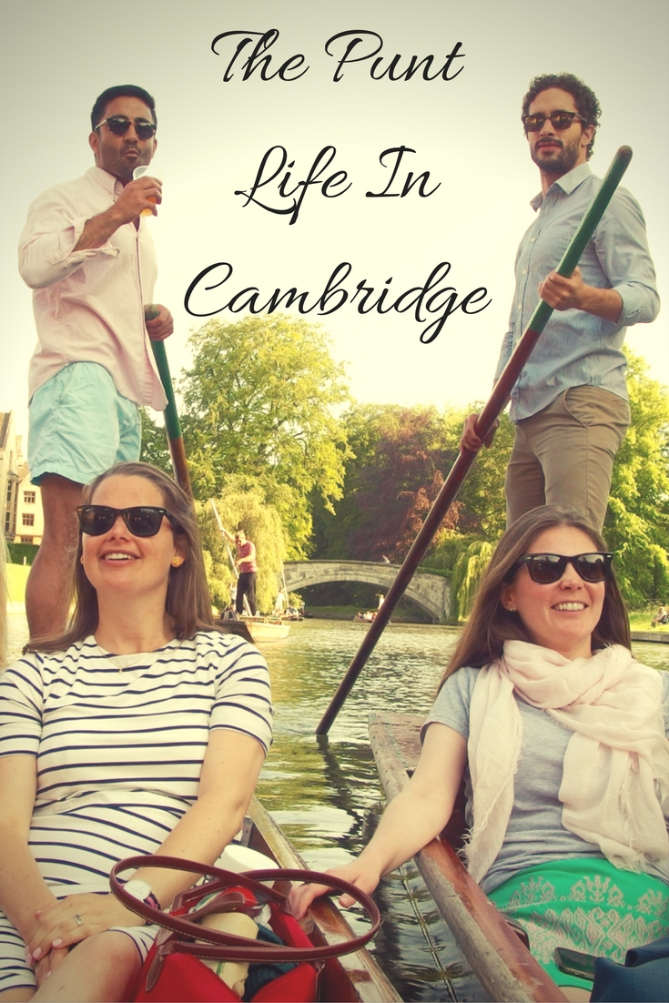 Punting, Cambridge, England