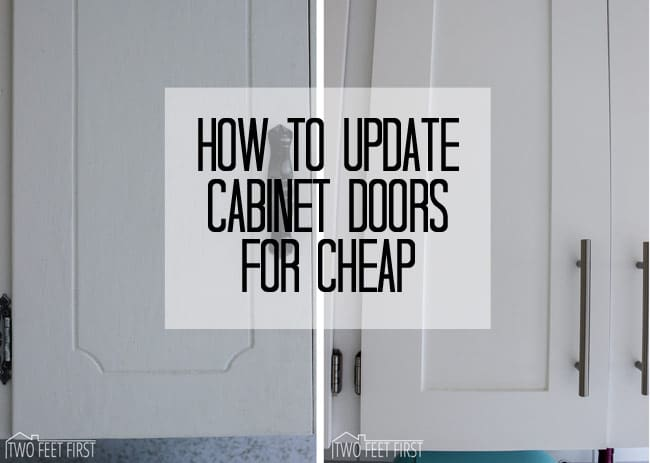 Twofeetfirst diy shaker style cabinet door for cheap for How to update cabinets