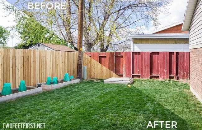 Rebuilding a Fence – PART 2 – Installing Cedar Pickets