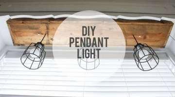 DIY Pendant Light