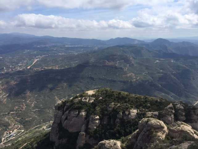 The views from Montserrat are worth the trip alone, but there is so much more!