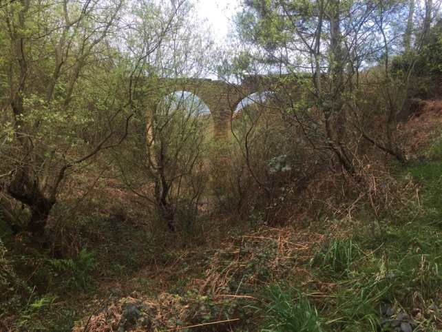 Love this old viaduct that we saw while hiking the St. James Way