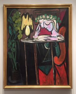 """Picasso's """"Reading at a Table,"""" 1934 Metropolitan Museum of Art"""