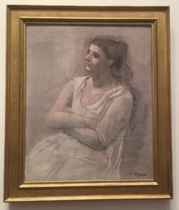 """Picasso's """"Woman in White,"""" 1923 Metropolitan Museum of Art"""