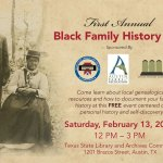TSLAC Black Family History Day