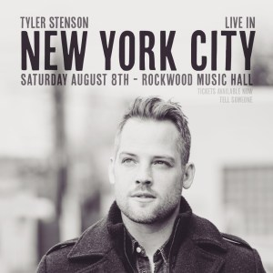 Tyler Stenson in NYC