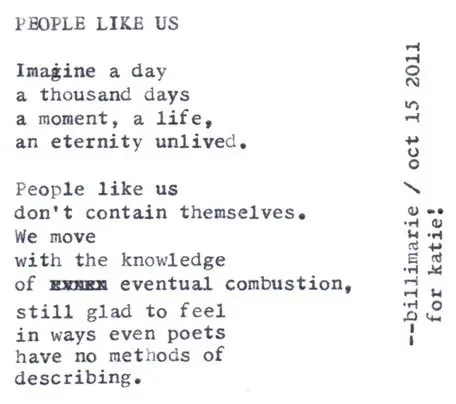 """People Like Us"""