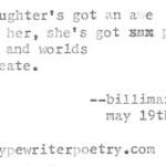 """""""Daughter"""""""