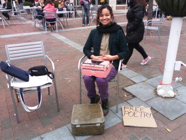 Typewriter Poetry - billimarie - Princeton - Farmer's Market