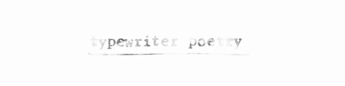 typewriter-poetry-header