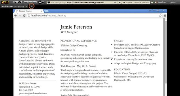 testing web fonts
