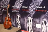 "Firestone's sponsorship of live music represents an ""energetic, vibrant approach"" to promotion, the tyre brand states"