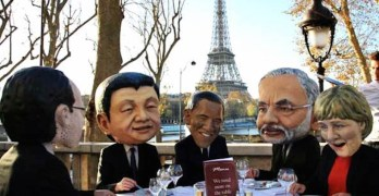Protests In Paris At COP21 Climate Talks