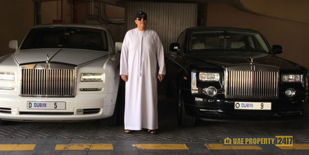 Dubai Real Estate Tycoon Spends US$9 million on #5 License Plate