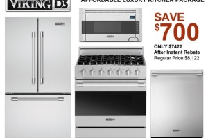 Viking Kitchen Appliance Package &#8211; From Aspirational to Affordable