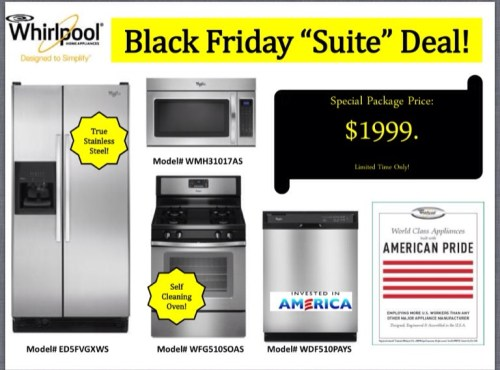 Whirlpool Black Friday