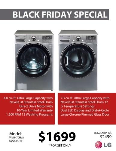 LG SS Laundry Pair