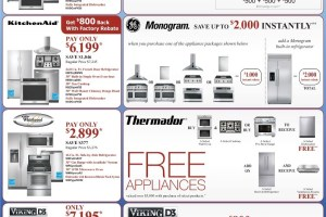 A Few Days Remaining: Sale on Plumbing and Appliances