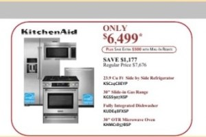 Appliance Packages that Look Great and Save Money