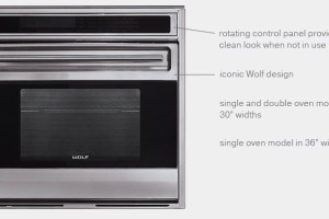 New Wolf Ovens now available