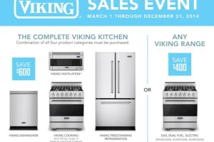 Two Viking Range Events will Save You Money