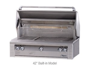 "42"" Built-In Aflresco Grill"