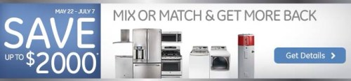 GE REBATE OFFER