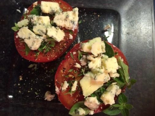 Stilton-Tomaten