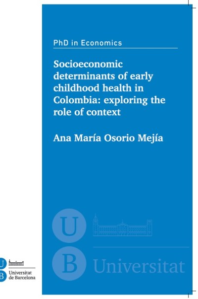 Socioeconomic determinants of early childhood health in Colombia: exploring the role of context ...