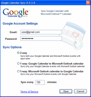 Sincronizar calenadario de google y outlook