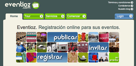 Eventioz: inscripcion online a eventos
